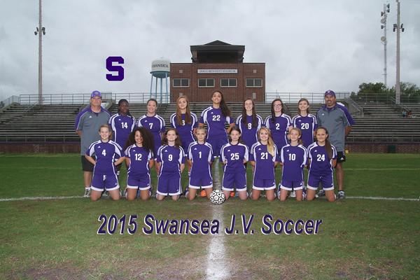 2015 girls JV Soccer