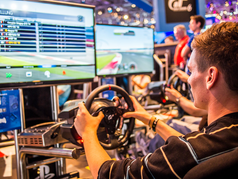 Gran Turismo 6 at Gamescom 2013
