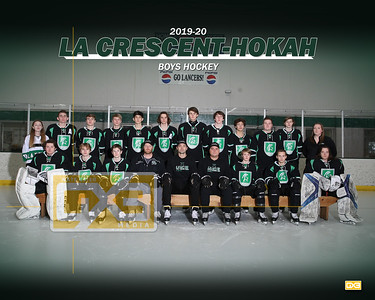 La Crescent-Hokah boys hockey BH1920