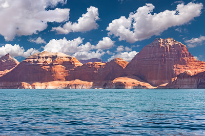 2020-08 Lake Powell with Knoble's, Martin's & Walker's - Landscape