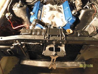 engine compartment assemble