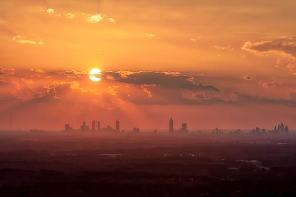 Atlanta Skyline 2-22-2018