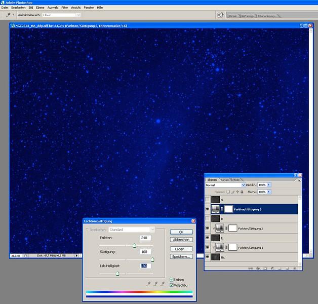 5.Set Farbton-Farbsaettigung in BLUE channel. Use Farbton=240 for BLUE.jpg