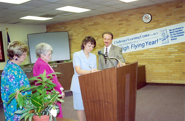 March 2001 Board Meeting , Press Confrence
