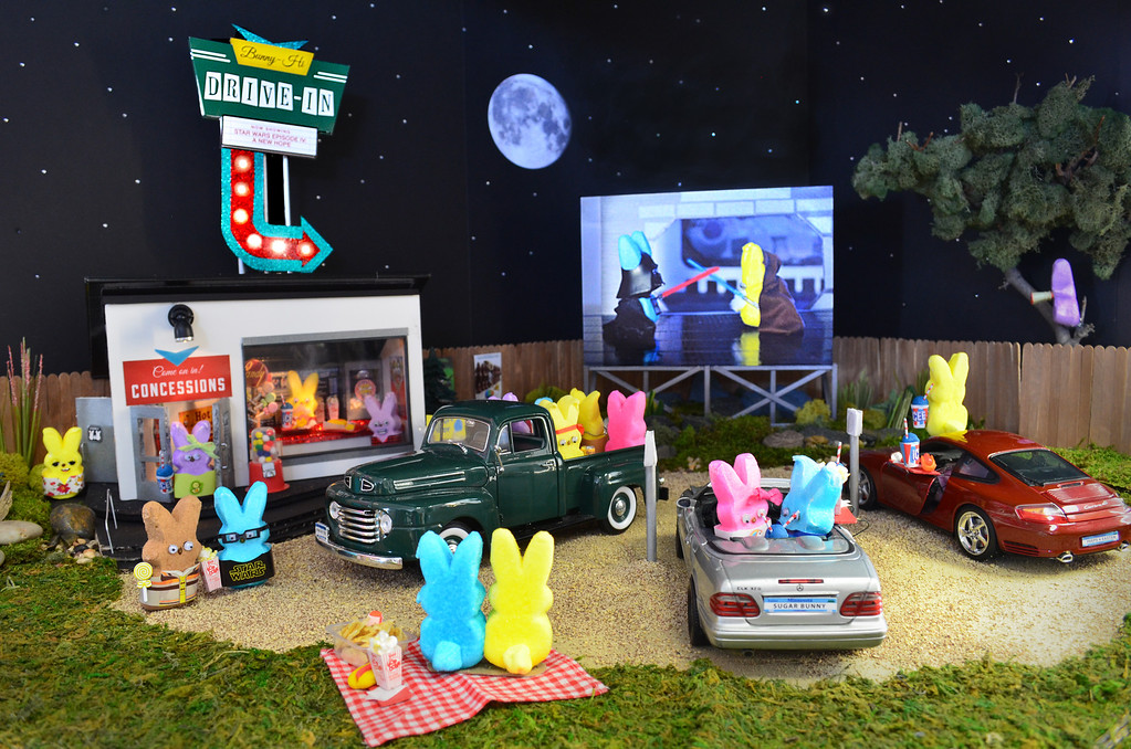 ". <b>THIRD PLACE:</b> ""Bunny-Hi Drive-in Theater,\"" by Nicole Von Ruden, Cathy Rose and Kari Pederson"