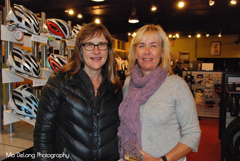 Susan Corkhill and Liz Williamson