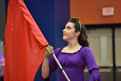 Winter Guard Parent Preview - Blue