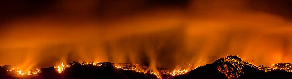 La Tuna Canyon Fire