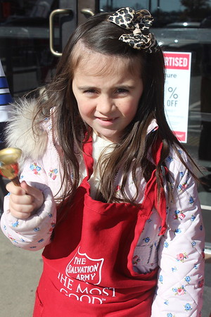 Salvation Army Red Kettle Bell Ringing - November 11, 2018