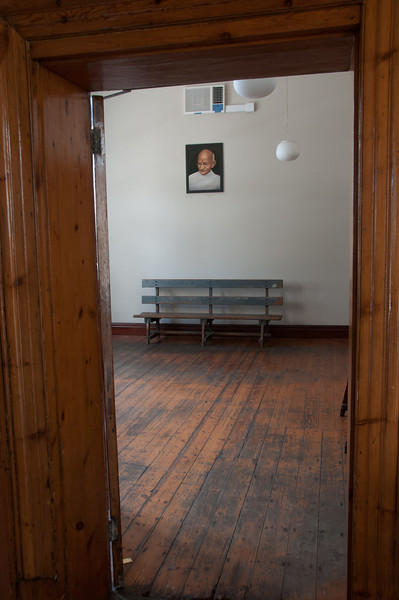 Inside Satyagraha House, aka Gandhi House, in South Africa