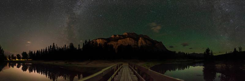Cascade Pond Banff Alberta