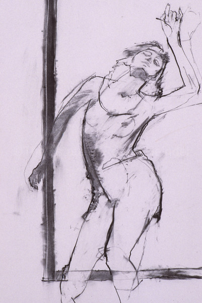 Study for 'Dancer with Red Hands' (1998)
