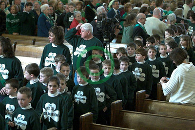 2010 Cleveland Saint Patrick's Day Mass at Saint Colman's