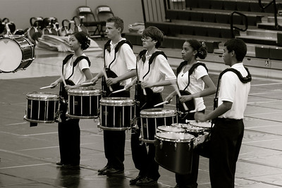 BHS: Winter Percussion @ Leigh '12