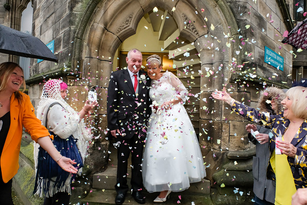 Wedding Photography at Rochdale Town Hall - Julie and Tony