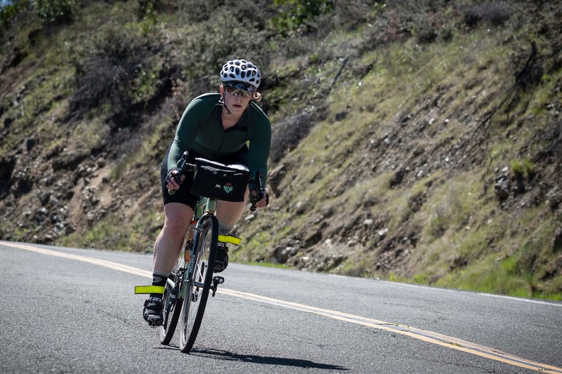 Butts Canyon Road, Davis Bike Club Cobb Mountain 300k Brevet, Lake County, California; March 2019