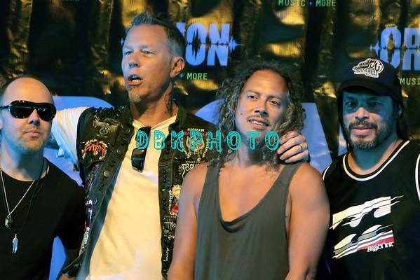 DBKphoto / Metallica Press Conference 06/22/2012
