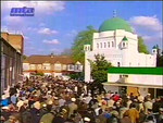 Scenes from Fazl Mosque London, 21 April 2003