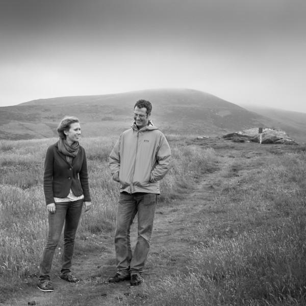 Bianca Carpeneti and Chris Witmore, Lordenshaws, Coquetdale Northumberland, July 2012