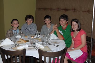 GOYA Dinner - May 20, 2008