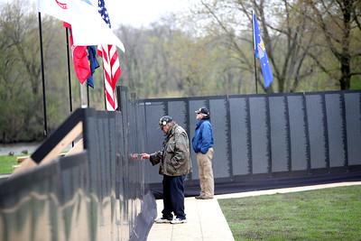 Traveling Vietnam Memorial Wall in Batavia