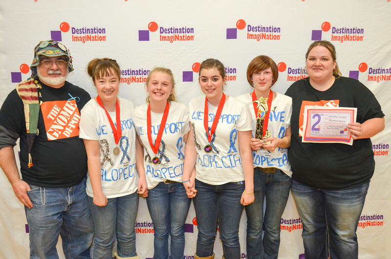 2nd place, projectOUTREACH, secondary,  Monadnock Regional HS, Swanzey, #130-93915