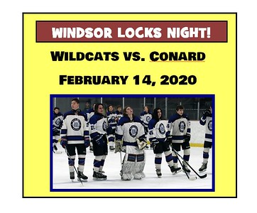 2020_02_14 Wildcats vs Conard