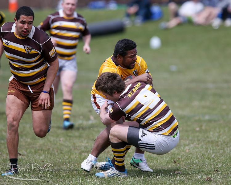 4/21/2018. St. Bonaventure Alumni take on the Undergrads in the annual Gringo Cup.