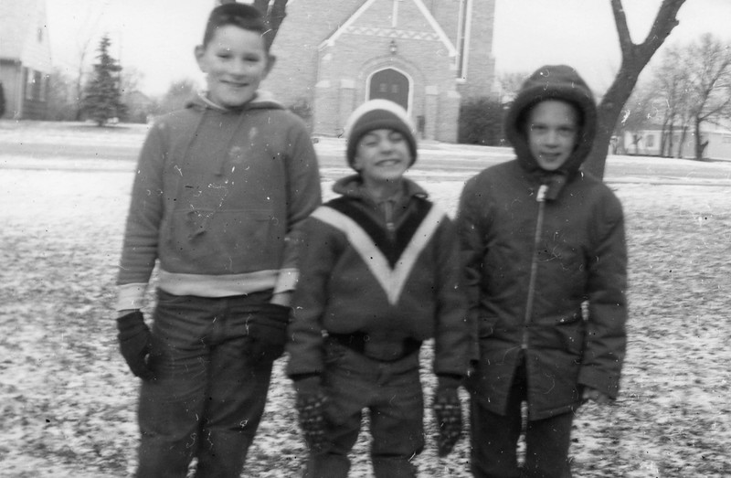 AR077.  Unknown‡ boy, Doug Burgum‡, unknown‡ boy – church – .jpg