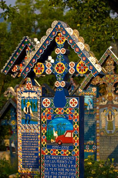 Merry Cemetery in Sapanta, Maramures, Romania