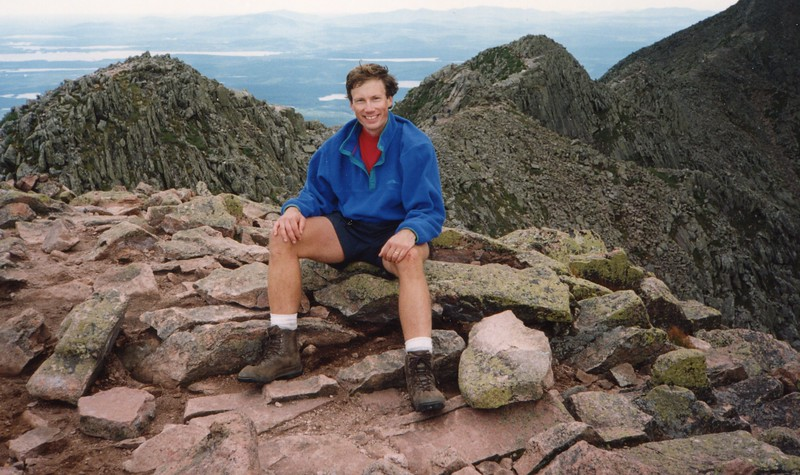 Mark's favorite - Katahdin in Baxter State Park - Maine.  Katahdin means great mountain.  5,267 ft above sea level.