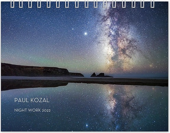 Night Work Calendar 2022