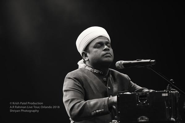 A. R Rahman Live Orlando 2018