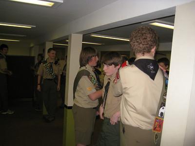 Troop Meeting - Dec 01