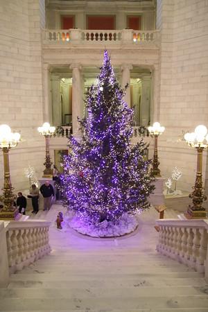Christmas Tree Lighting at Statehouse