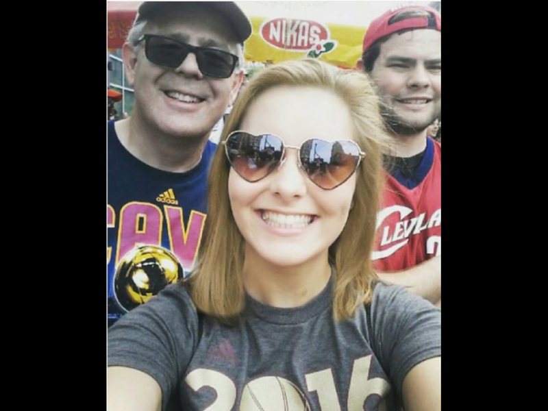 Championship Parade in downtown Cleveland!  June 22, 2016