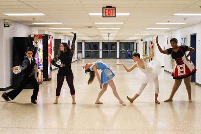 wp dance team silhouettes