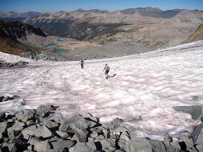 Lyell Glacier: Sept 18-21, 2009
