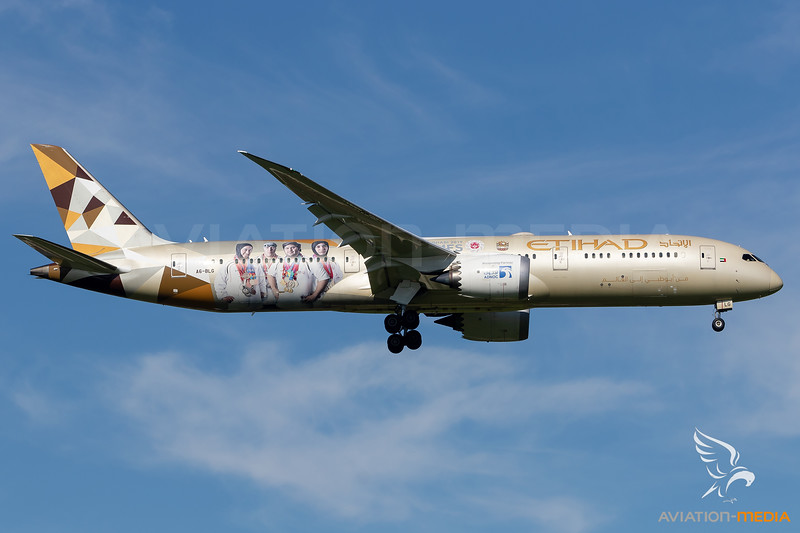 Etihad Airways / B789 / A6-BLG / Olympic Games