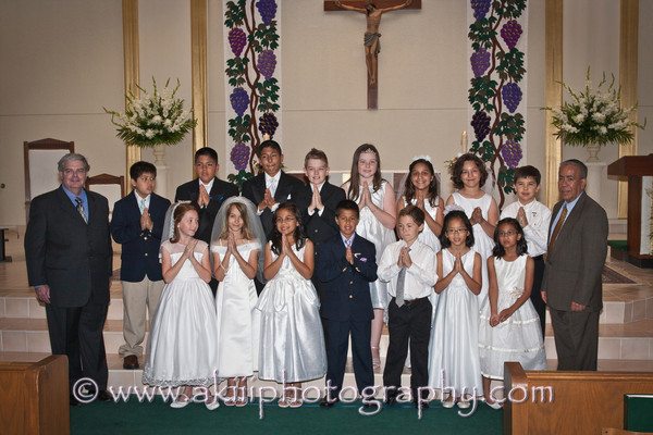 Claudia First Communion