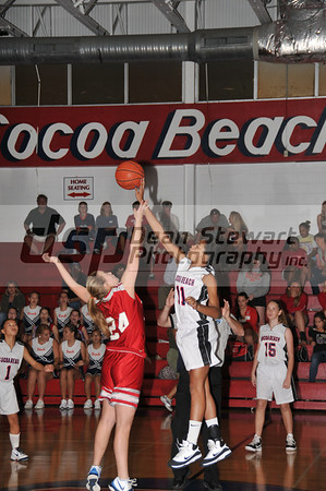 Cocoa Beach Girls Basketball vs SHS