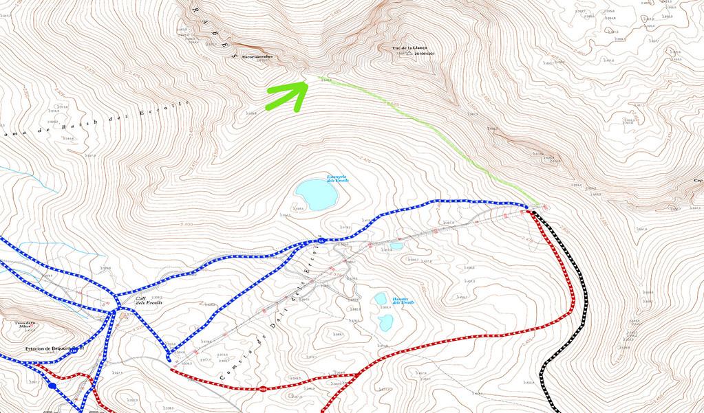 Ejemplo uso mapa de curvas para freeride