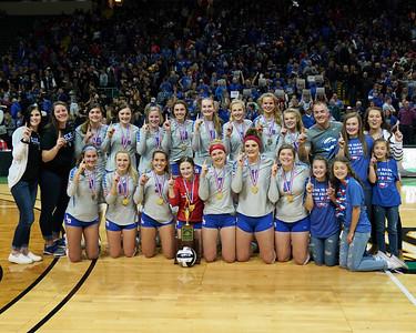 LB VB Div III State Champions (2019-11-09)