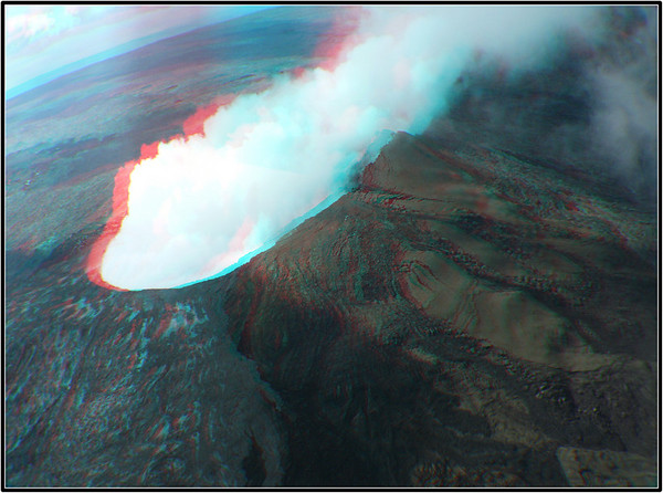 The Big Island, Hawaii (Anaglyphs)