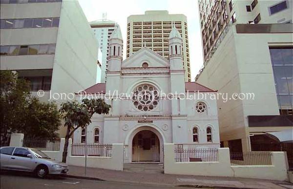 AUSTRALIA, Queensland, Brisbane. Brisbane Synagogue. (1999)