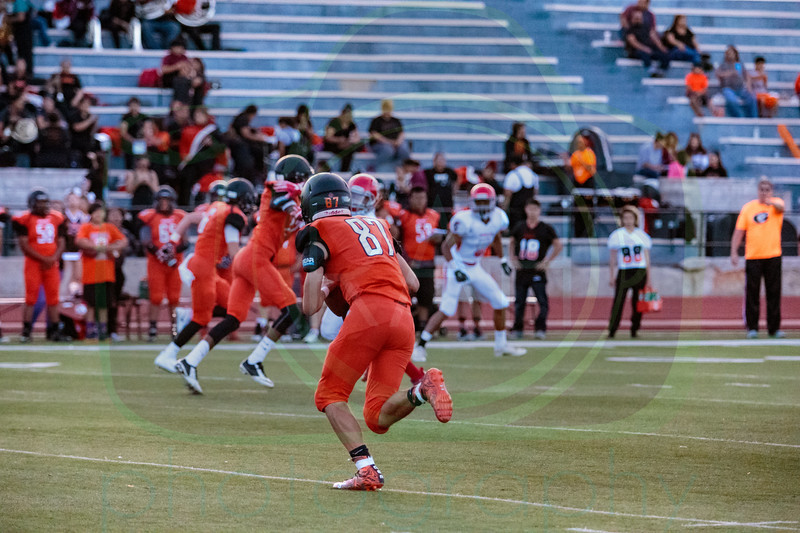 GHS vs Bernalillo Football 8-25-17