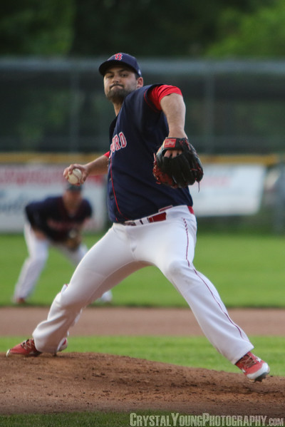 Barrie Baycats at Brantford Red Sox May 31, 2017