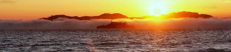 Alcatraz Sun Set