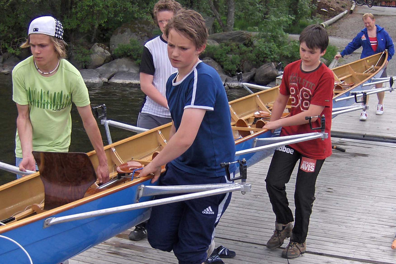 Ellen skal på vannet
