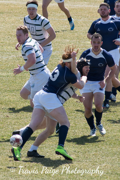 College Rugby- Dartmouth and Penn State